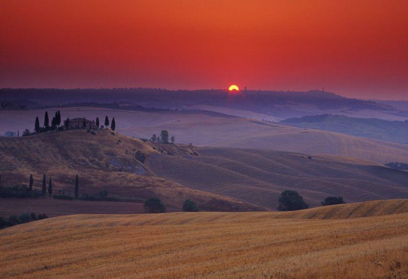 Tuscany_dusk