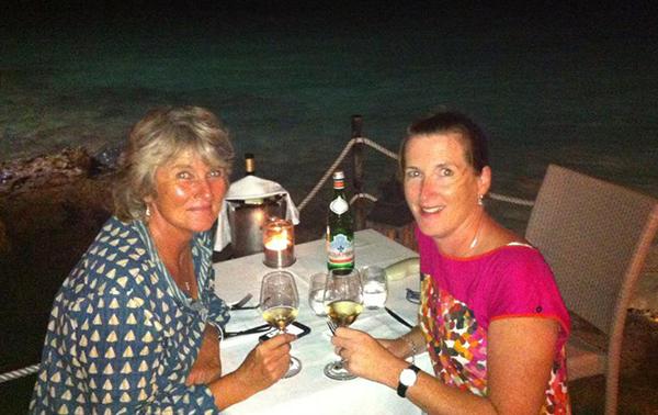 Helen and Sarah Maddalena