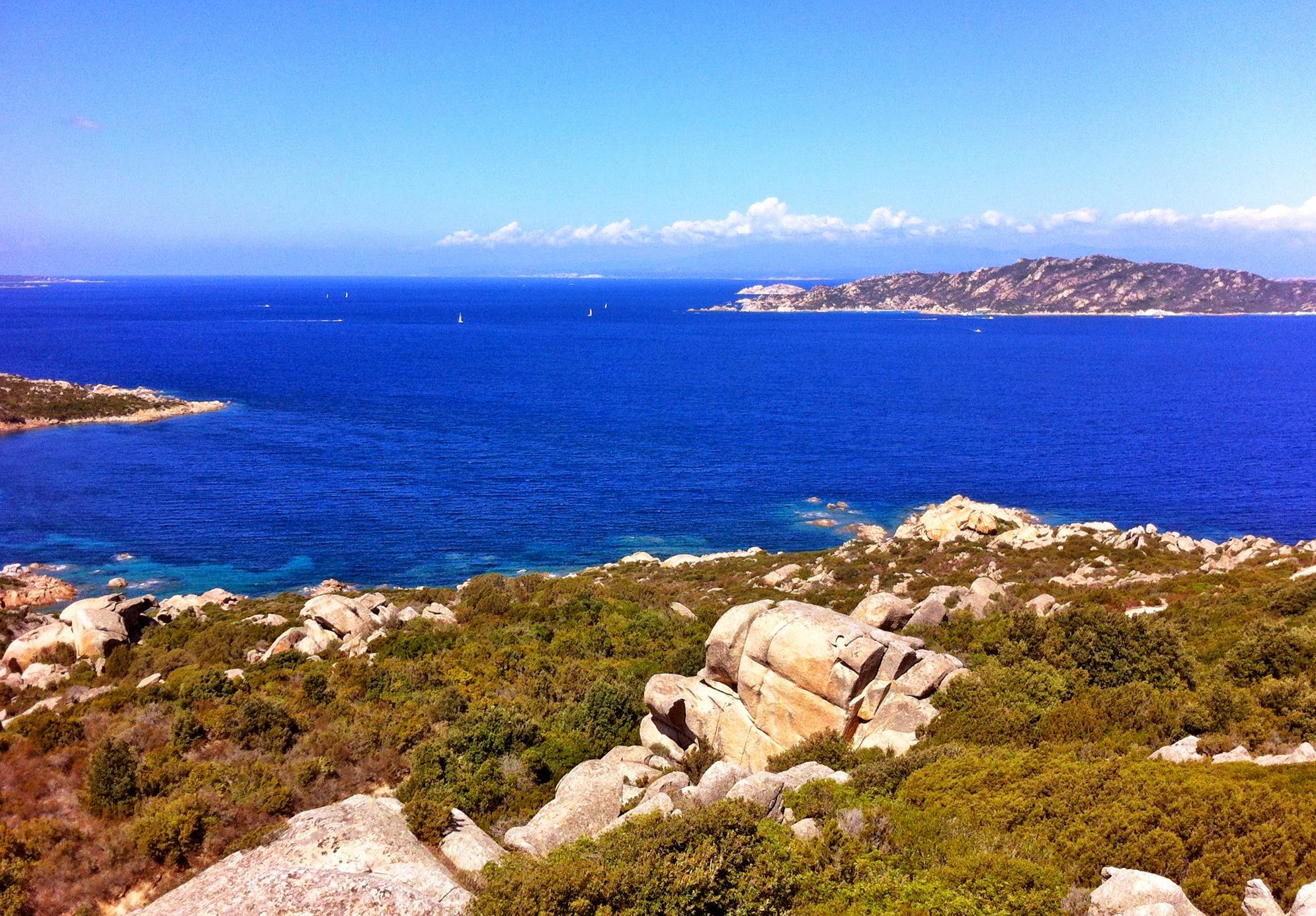 Sardinian coast in Spring