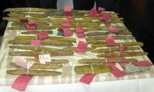 Mysterious orichalcum ingots found near Gela holidays in Sicily Essential Italy