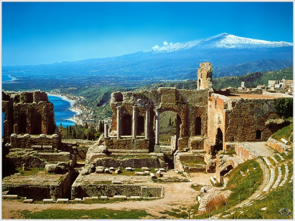 Taormina Mount Etna Sicily most romantic destinations Italian villas Essential Italy