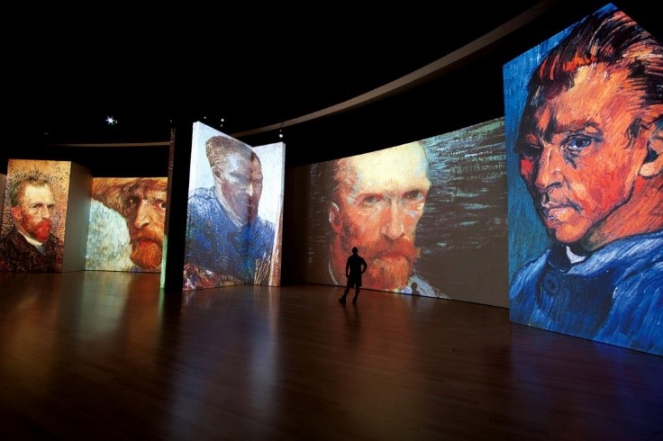 Van Gogh Alive Exhibit in Florence cultural activity for holiday in Tuscany Essential Italy