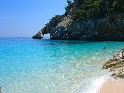 Cala Goloritze bay scenic hikes near our Sardinia villas Essential Italy