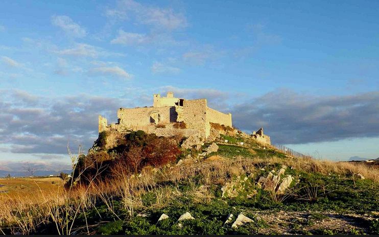 Calatubo Castle Trapani Sicily hidden attraction Abruzzo holidays Essential Italy