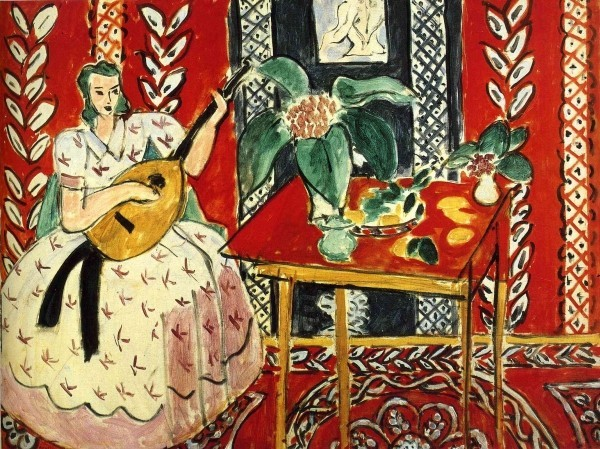 Painting by Henri Matisse exhibition in Rome near our Umbria luxury apartments Essential Italy