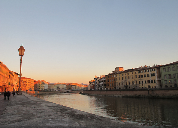 River Arno in Pisa near our villas in Tuscany Essential Italy