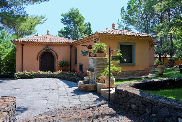 Casa Taormina villa at Scozilia estate special offer luxury holidays in Sicily Essential Italy