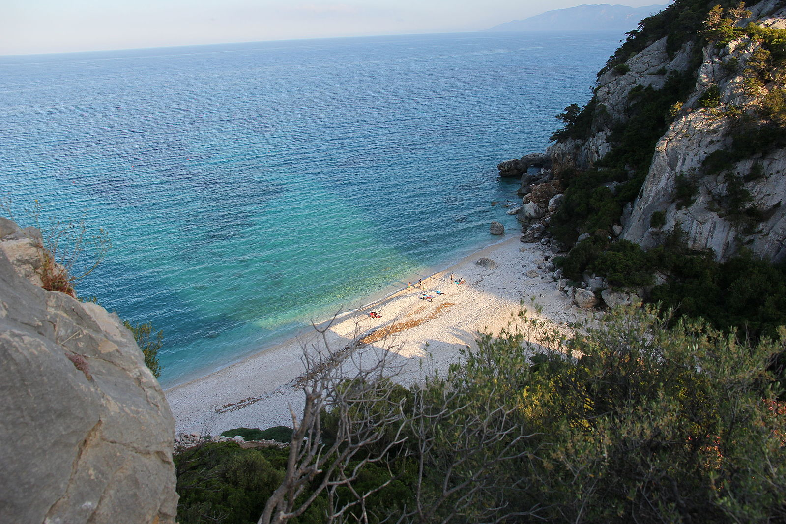 Cala Fuili, a beautiful beach near our Sardinian villas.