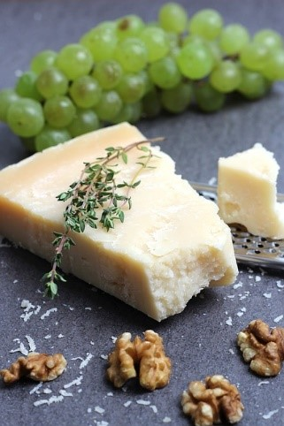 Parmesan cheese increased sales of Italian dairy food Essential Italy