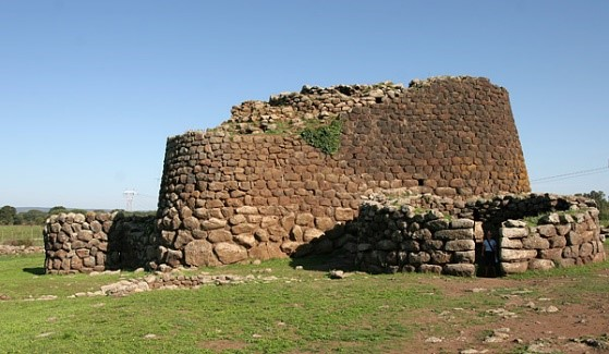 Nuraghe Losa ancient ruins and sites near luxury villas in Sardinia Essential Italy