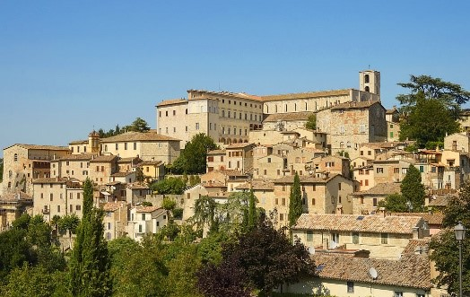 Todi ancient town to explore on our Umbria villa holidays Essential Italy