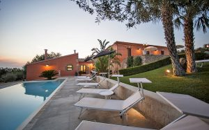 Sicilian Villa Sicily | Swimming Pool Luxury Sunset | Essential Italy Rentals Holidays