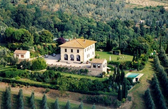 Casa Nova in Vinci, one of Essential Italy's luxury villas in Tuscany