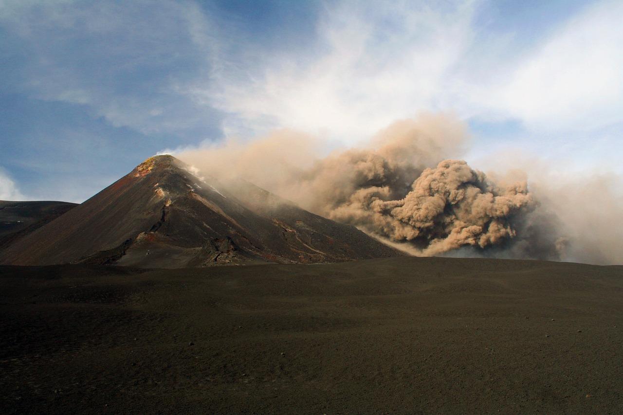 volcano Etna in Italy