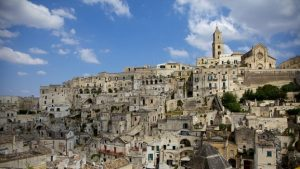 Matera, near our villas in Puglia, European Capital of Culture 2019