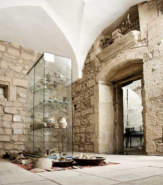 Museo Faggiano, ancient artefacts on display near our villas in Puglia