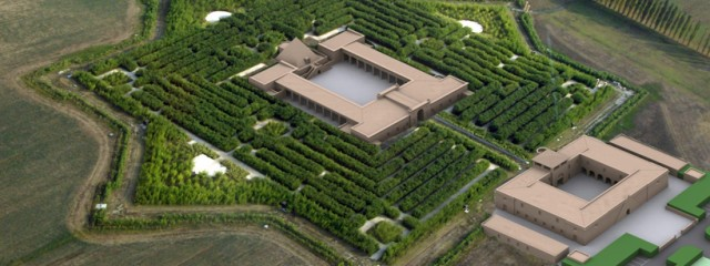 Labirinto Fontanellato – largest maze in the world in Italy