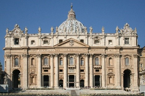 St Peter's Basilica, Vatican City – one of TripAdvisor's top 10 global landmarks