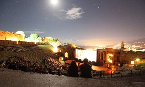 Taormina Film Festival near our Sicily holiday accommodation