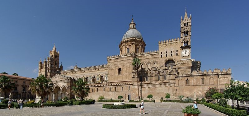 Palermo Cathedral near our villas, apartments and hotels in Sicily