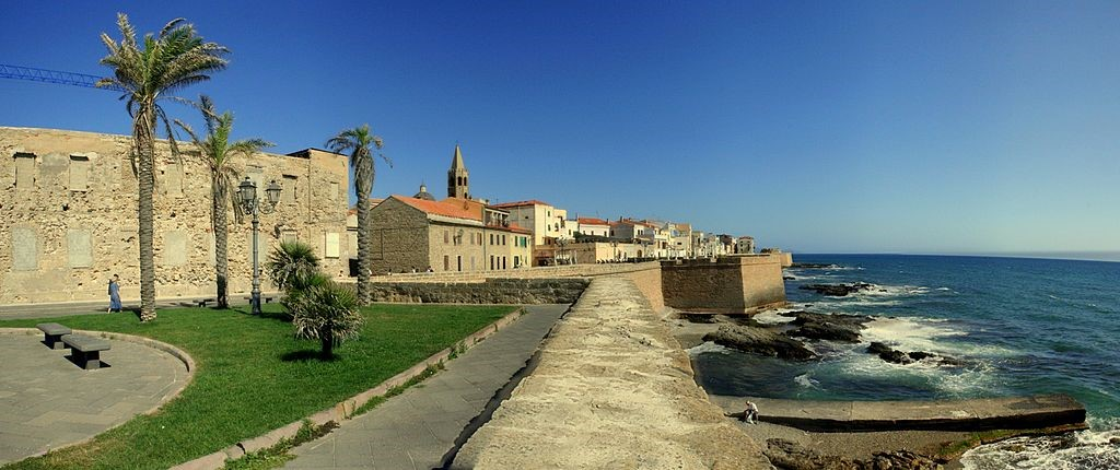 View of the coastline near our Alghero hotels and villas