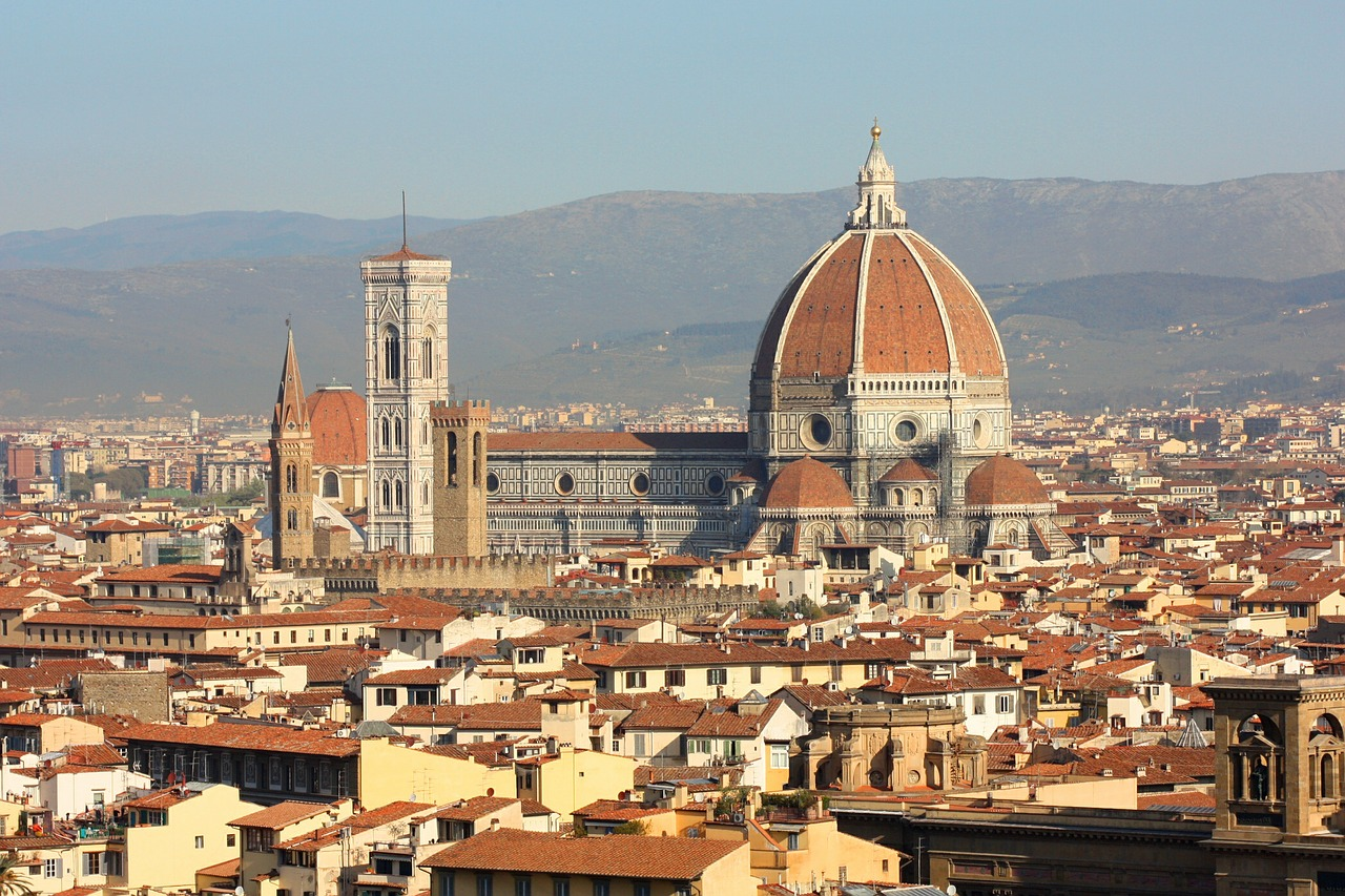 Il Duomo, Florence, set to feature on the BBC's Italy's Invisible Cities