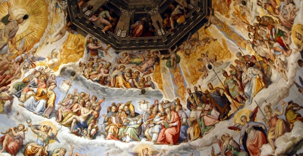 Last Judgement, in Cattedrale di Santa Maria del Fiore, Tuscany, Italy