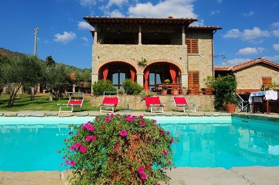 Villa La Senaia – one of Essential Italy's featured Tuscan villas near Arezzo and Cortona