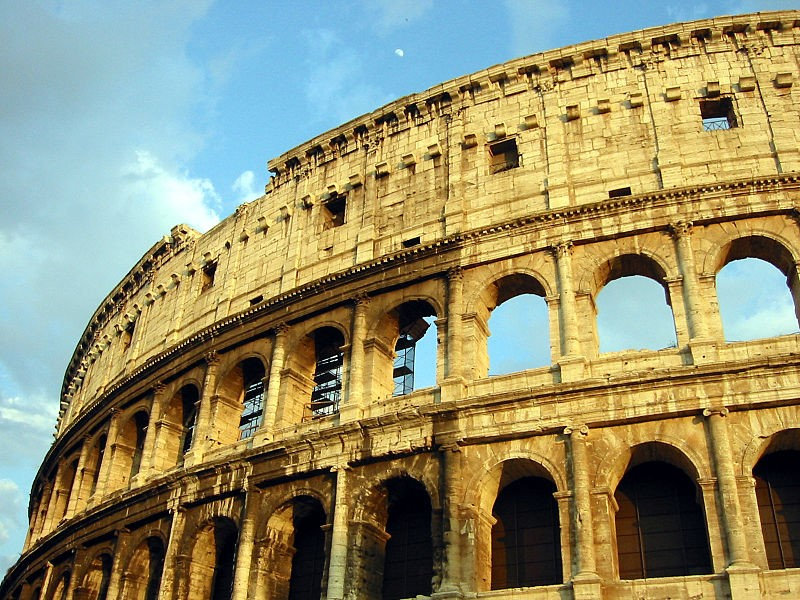 Visit the Colosseum in Rome on your luxury holidays in Italy