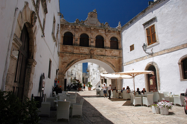 Visit Ostuni for the Feast of San Biagio and stay in our villas in Puglia