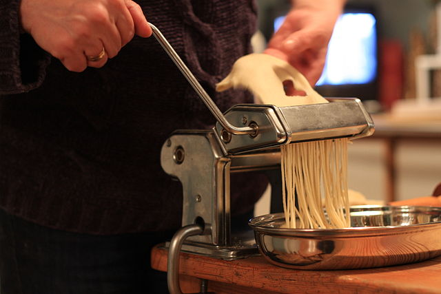 Try your hand at making pasta on your Italian holidays