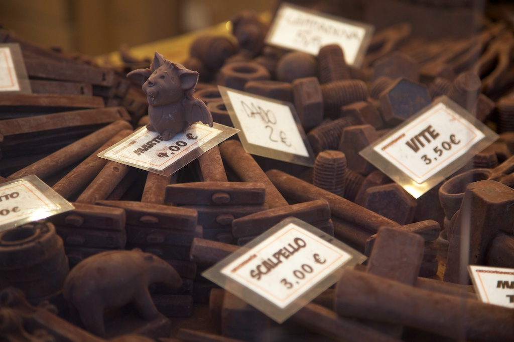 Visit the Artisan Chocolate Fair of Florence near our Italian villas in Tuscany