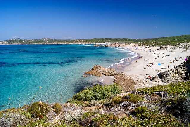 Golden sandy beaches to visit near our Sardinia luxury villas