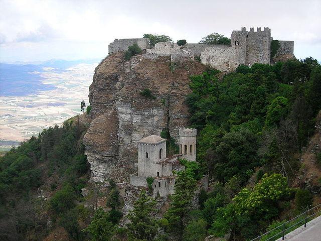 Erice castle – family friendly activities near our Sicily villas