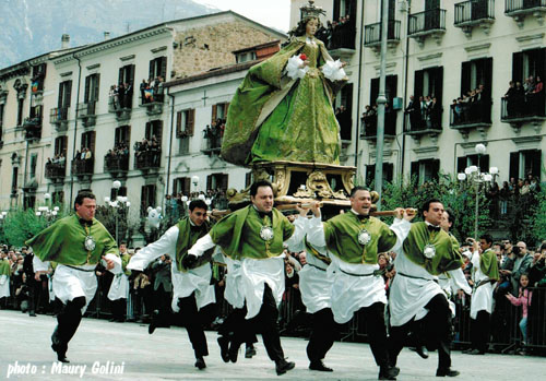 La Madonna che Scappa, Pulmona – event to visit on Abruzzo holidays