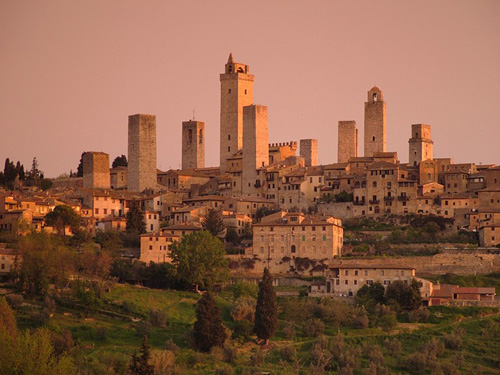 San Gimignano in Tuscany near our Italy villas