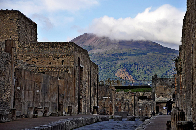 Pompeii Roman village near Naples, possible excursion from our Tuscany luxury hotels