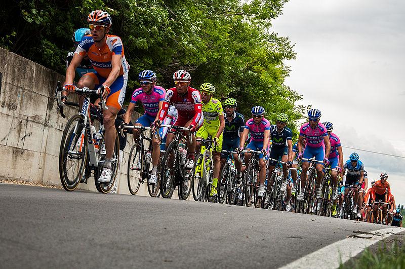 Giro d'Italia 2016 near our holiday lettings Italy