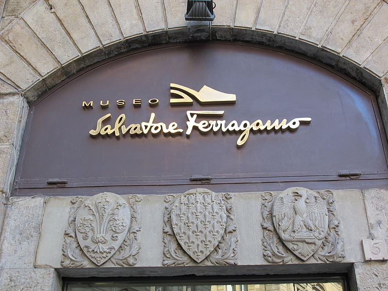Across Art and Fashion exhibit at the Salvatore Ferragamo Museum in Flroence near our villas in Tuscany