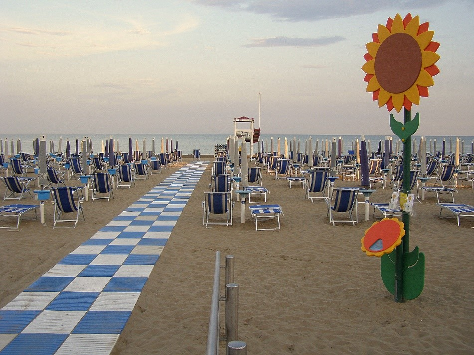 Jesolo in italy offers tan or your money back scheme