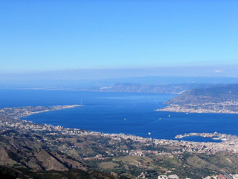 Cross the Strait of Messina to Calabria on your Sicily villa holidays