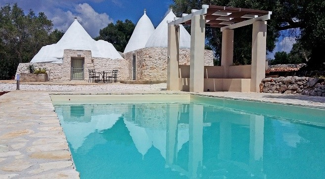 Trullo Pesca, one of our new trulli in Puglia