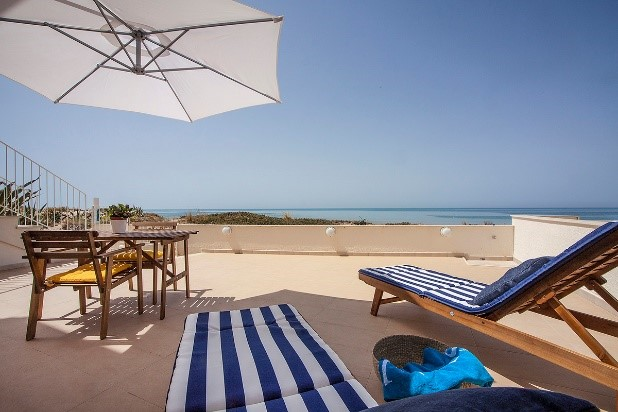 Punta Secca, one of our new apartments in Sicily