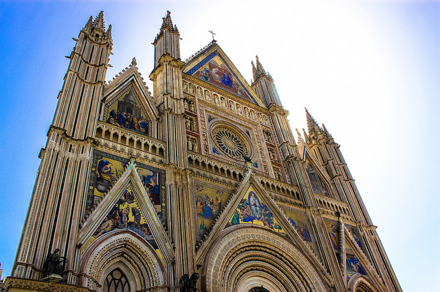 Orvieto Cathedral, churches and cathedrals near our villas Umbria