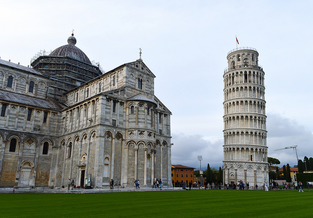 Pisa, one of the great cities in Tuscany near our villas in Italy to rent