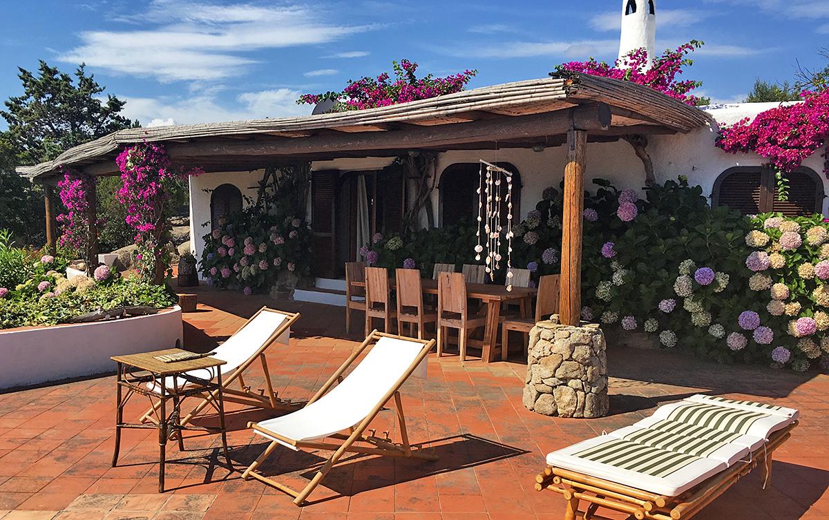 Villa Betta, Sardinia, one of our featured Italian villas