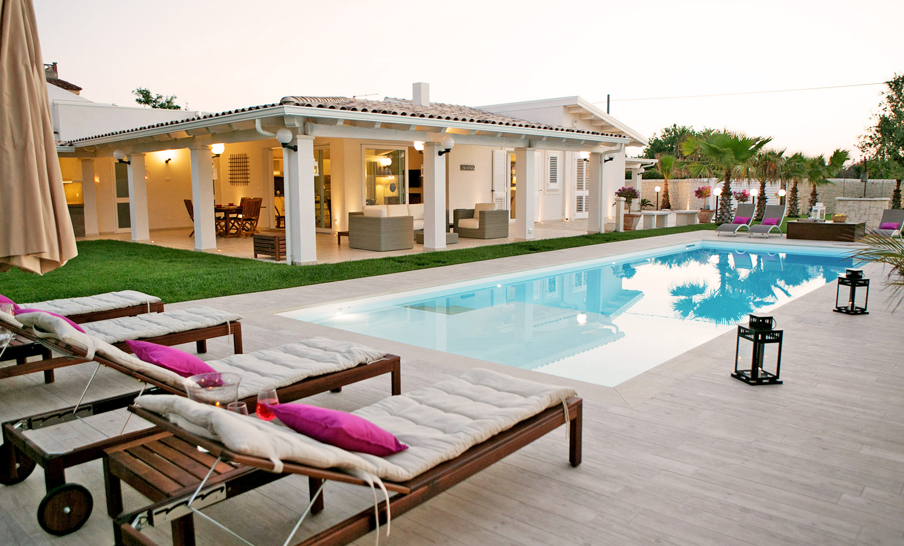 Ville delle Palme, Sicily, one of our featured Italian villas