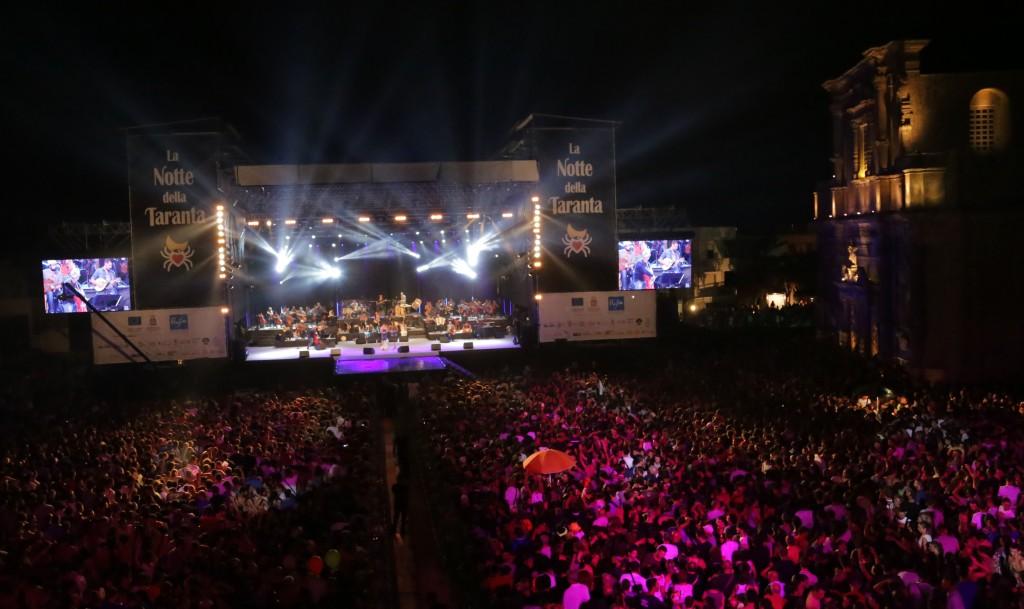 La Notte della Taranta music festival in Puglia near our boutique hotels in Italy