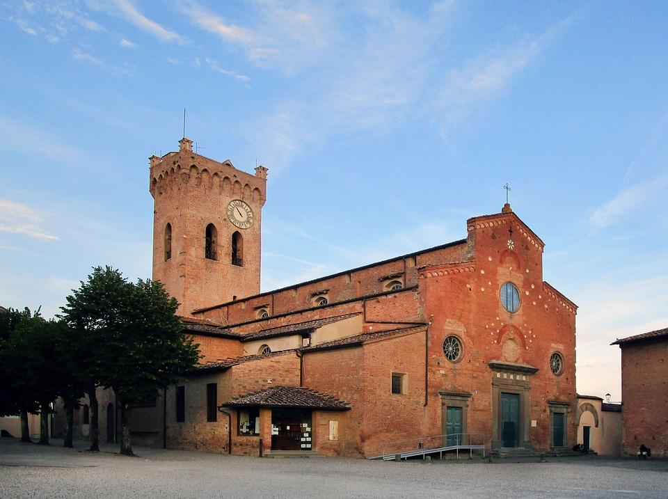 The Duomo at San Miniato, Tuscany