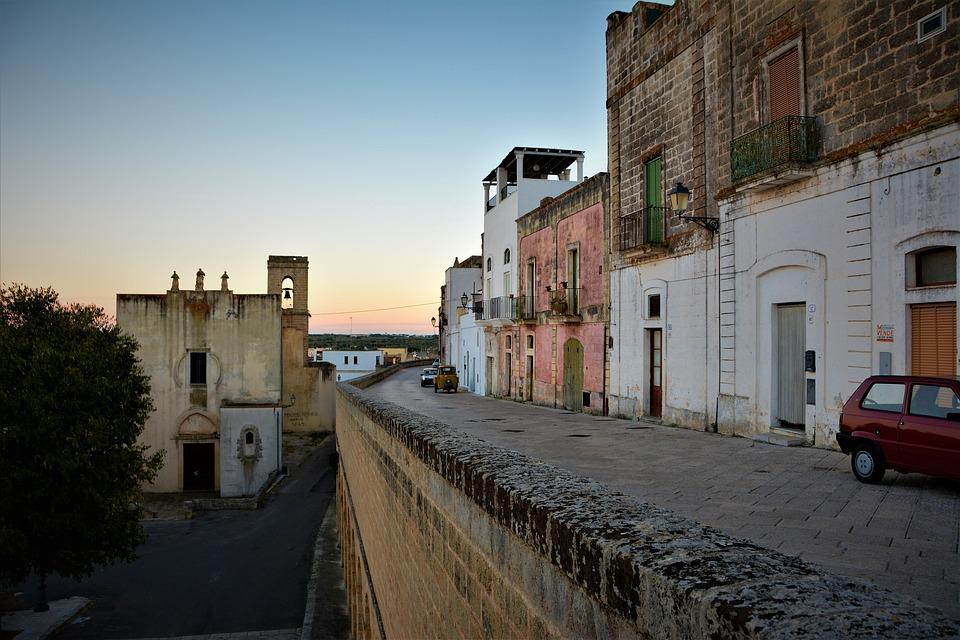 Sunset in Specchia, Puglia
